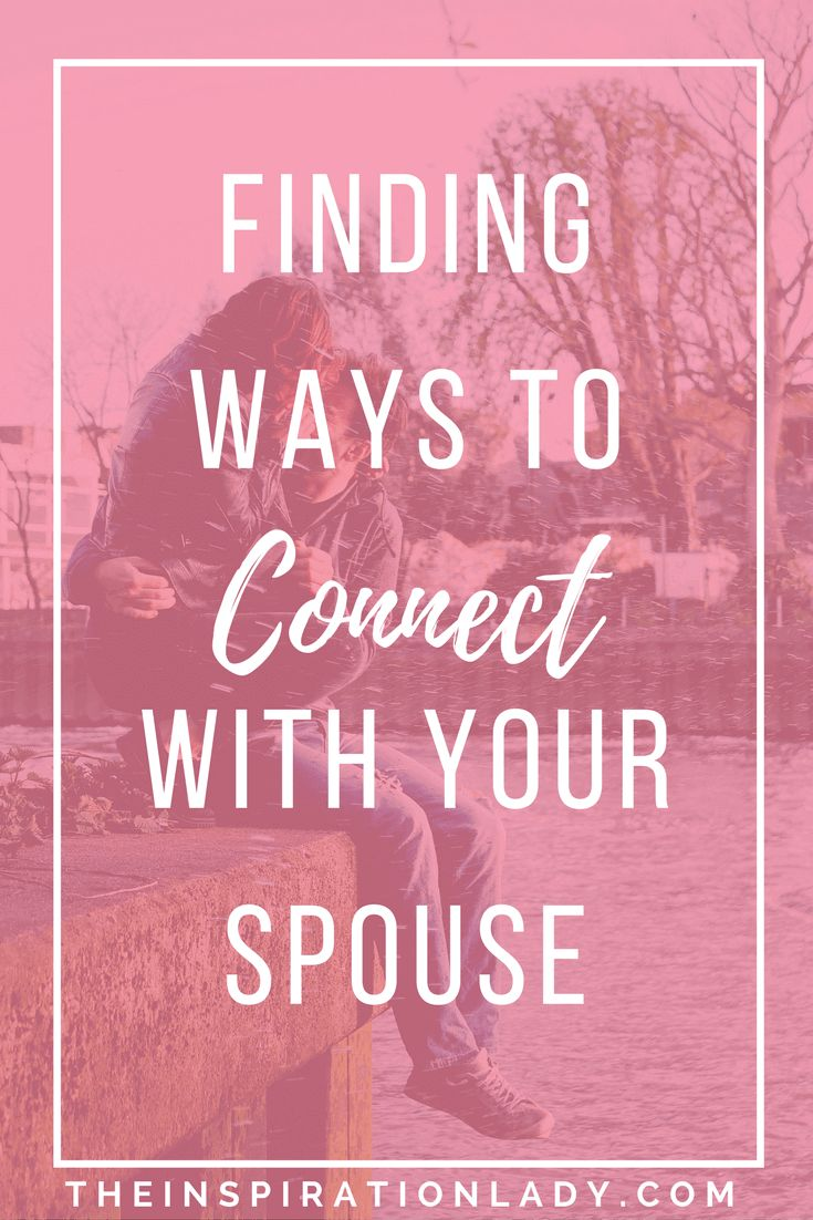 In such a hectic world, it can be easy to drift away from your partner. Here are some things to keep in mind when trying to re-connect!