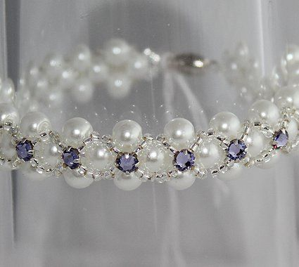 montee bead bracelet | £ 18 st petersburg stitch bracelet £ 22 butterfly bracelet
