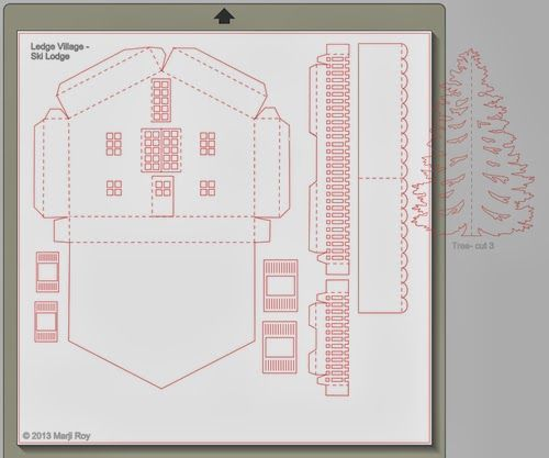 Paper House Template
