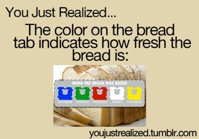Not really the bread is shipped in so you don't know when it is baked unless the store bakes its own bread.