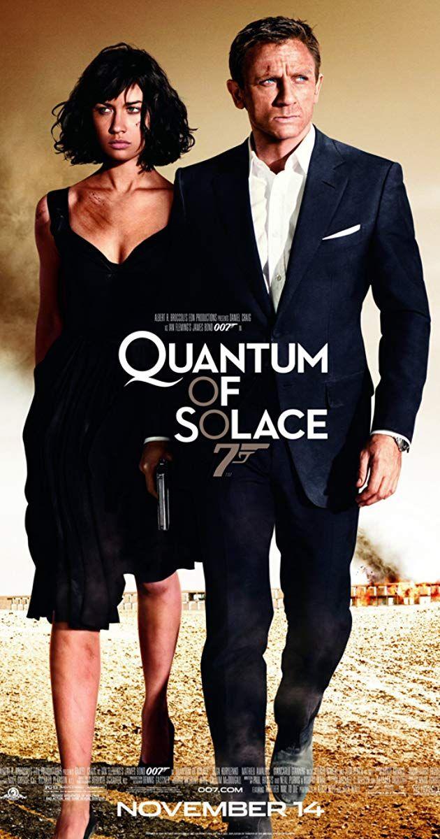 Quantum Of Solace 2008 Imdb Movies In 2019 James