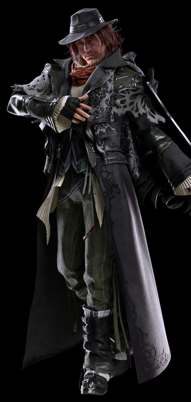 Ardyn Izunia Full CG Render - Kingsglaive Final Fantasy XV