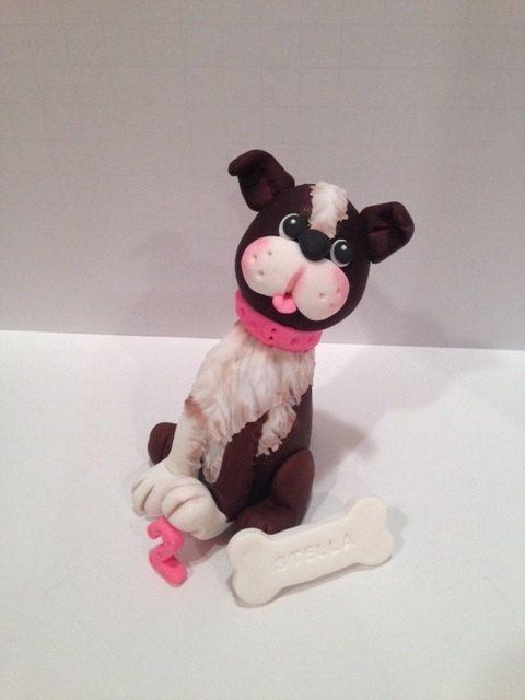 Edible Dog Cake Images : 1000+ ideas about Fondant Dog on Pinterest Wolf cake ...