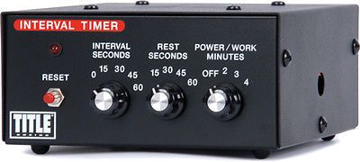Corner Supplies 179790: Title Boxing Interval Gym Timer -> BUY IT NOW ONLY: $113.99 on eBay!