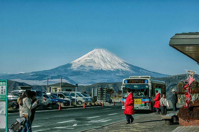 Tips Hemat Berkeliling Gunung Fuji Hakone