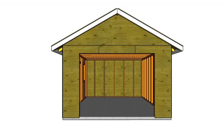 Detached garage garage pinterest for 8 car garage plans