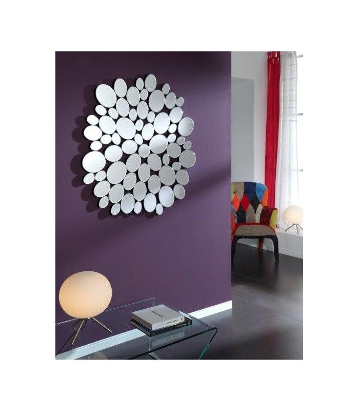 78 ideas sobre espejos de pared decorativos en pinterest - Espejos con formas ...