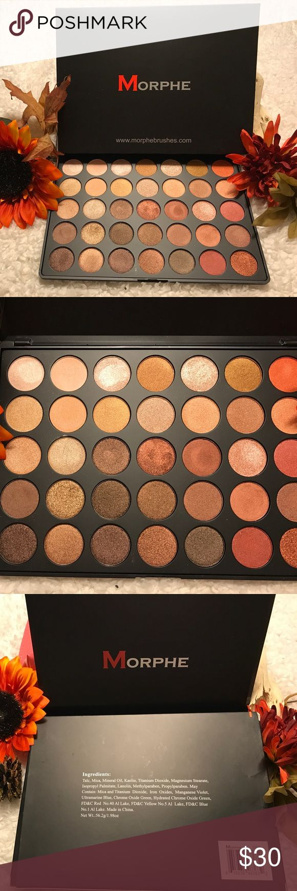 Morphe 350S Pallet! Their best selling pallet!!  Morphe 350S Eyeshadow Pallet!! 35 stunning - super pigmented Shadows!! These bad boys are buttery soft and full of color!! Most never touched and a few swatched only! Free gifts with purchase!!  listed under Mac for exposure only*. Bundle and save- make me an offer!! ❤️❤️ MAC Cosmetics Makeup Eyeshadow