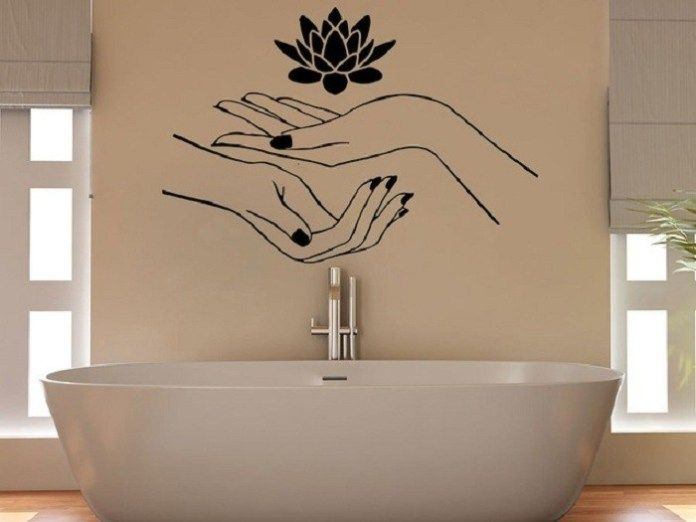 Find Out Creative Wall Sticker Ideas, Bathroom Wall Decals