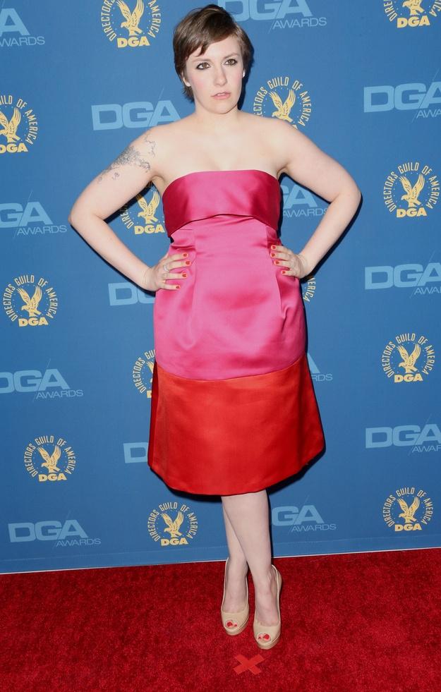 Lena Dunham At The Directors Guild Of AmericaAwards