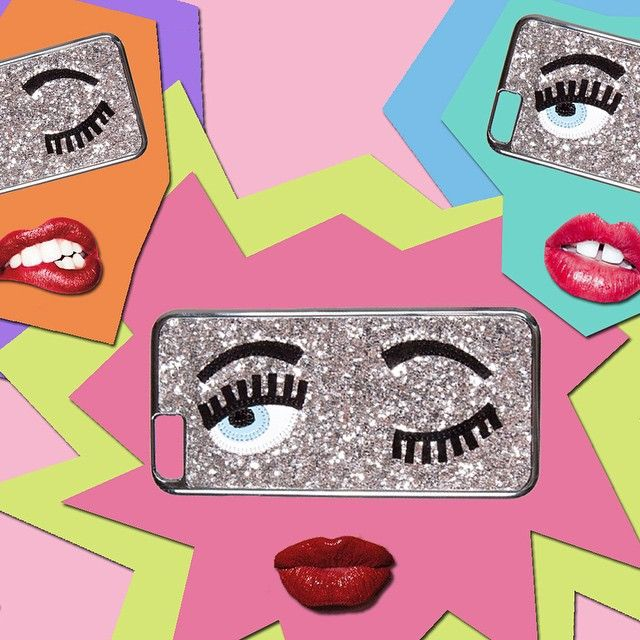 #ChiaraFerragni Chiara Ferragni: Now available at chiaraferragnicollection.com: @chiaraferragnicollection glitter Iphone cover ❤️ #TheBlondeSaladNeverStops #ChiaraFerragniCollection