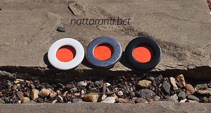 peach orange brooches very simple and subtle wedding guests pins badges by nattaranti on Etsy