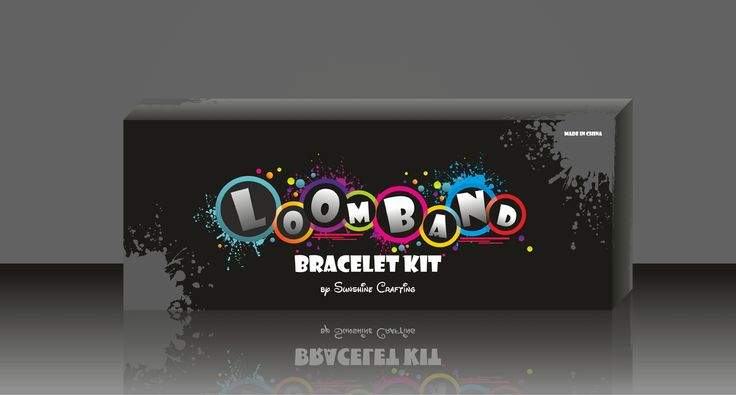 Loomband bracelet kit, kids game