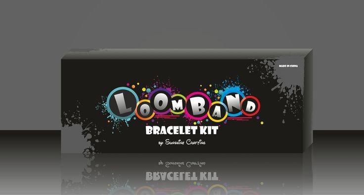 Loomband bracelet kit, kids game