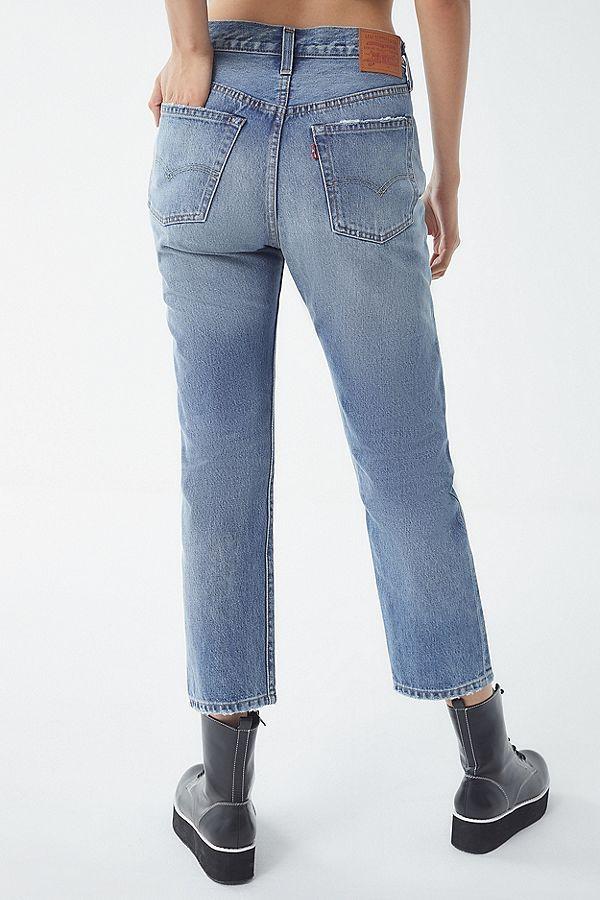 757ab7de612fc3 Levi's 501 Original Cropped Jean - Vintage Find | style | Cropped ...