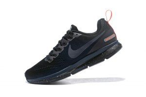 001d3a7929511 Mens Nike Air Zoom Pegasus 34 FlyEase Black Obsidian 907327 001 Running  Shoes Nike Air Zoom