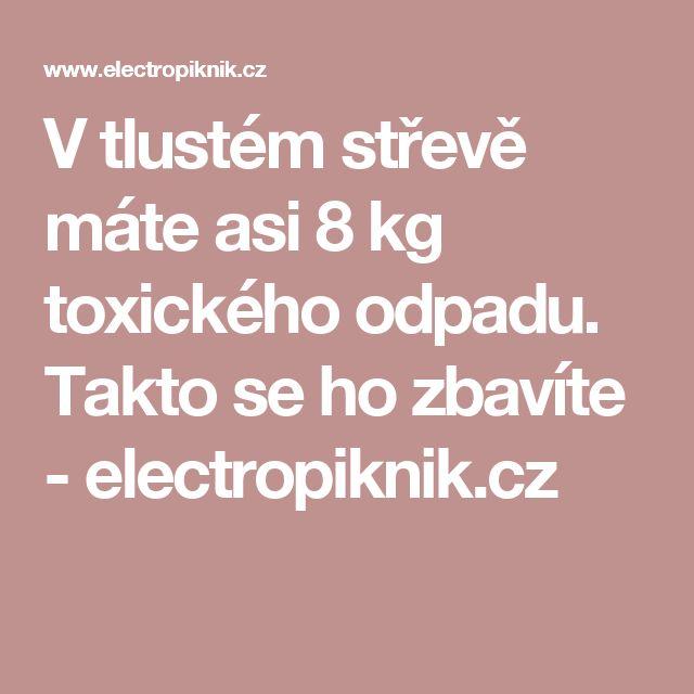 V tlustém střevě máte asi 8 kg toxického odpadu. Takto se ho zbavíte - electropiknik.cz