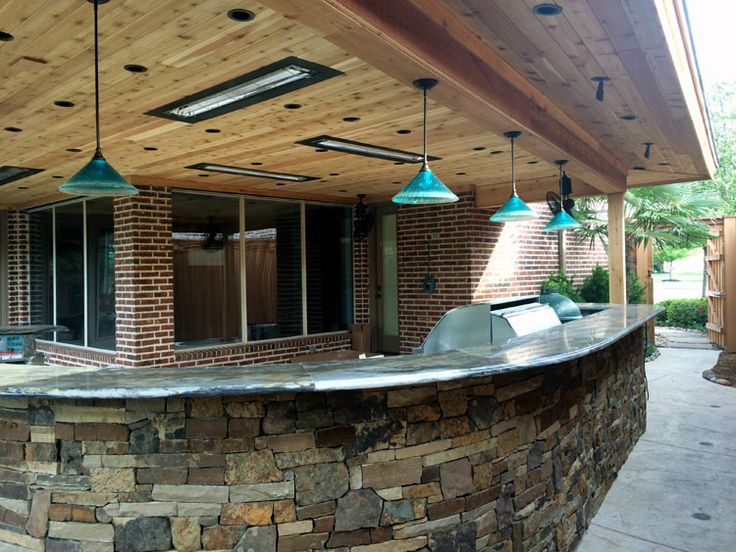 Dallas Landscape Lighting Installed The Flush Ceiling Mounted Heaters By  Infratech In This Picture (our