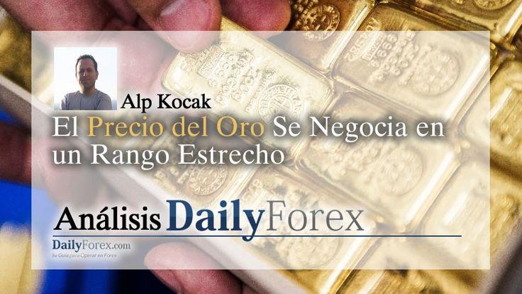 El+Precio+del+Oro+Se+Negocia+en+un+Rango+Estrecho