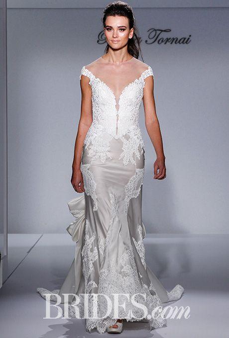 39 best Pnina Tornai images on Pinterest | Short wedding gowns ...