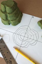 making your own contour map activity