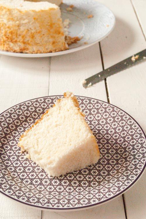 Cómo hacer un angel food cake