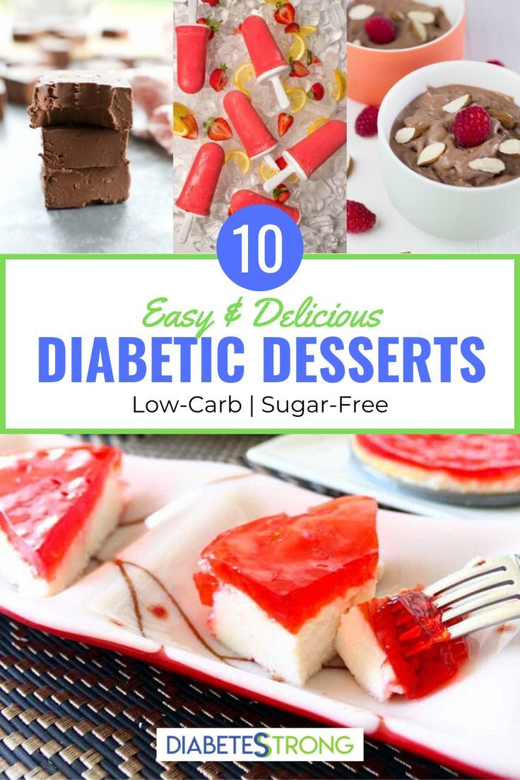 10 Easy Diabetic Desserts Low Carb In 2020 Diabetic Friendly Desserts Diabetic Desserts Easy Healthy Dessert Recipes