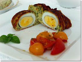 A stefánia hallatán gondolom mindenkinek a darált húsból készült, a közepén főtt tojással készített, tepsiben sütött fasírt jut az eszé...