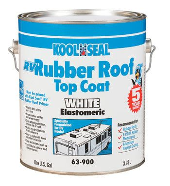 Kool Seal Rv Rubber Roof Top Coat Campers Ideas Rv