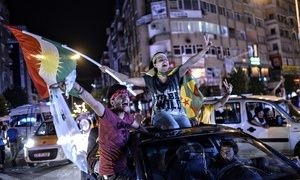 Peoples' Democratic Party celebration, Diyarbakir