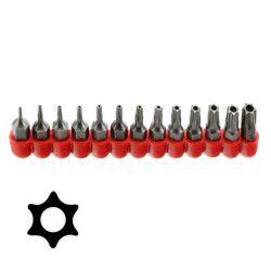 13pc Tamper Proof TORX Star Bit T-4 to T-40 - Hex Shank to Fit Drill Chucks  #Tools #Star #BIt