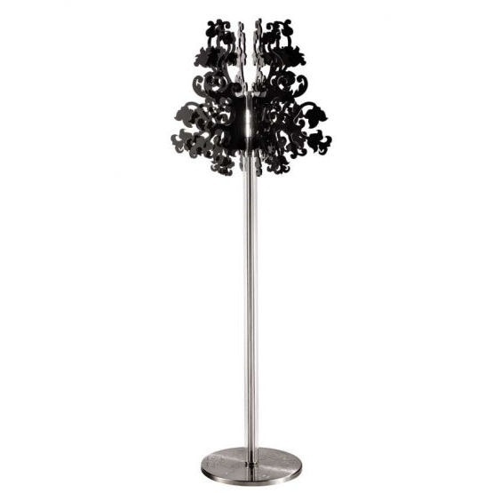 Terzani Anastacha One Light Floor Lamp and Black Diffuser with CanopyFloor Lamps, Black Diffuser, Terzani Anastacha, Trav'Lin Lights, Floors Lamps, Tables Lamps, Superb Lights, Lights Floors