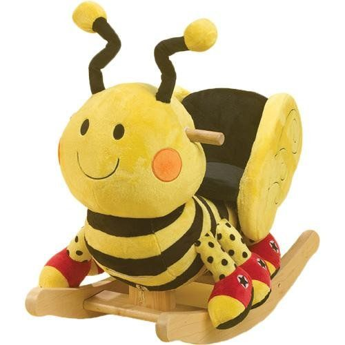 Rockabye Buzzy Bee Rocker   Made In The USA Buzzy Bee For Your Little Busy  Bee