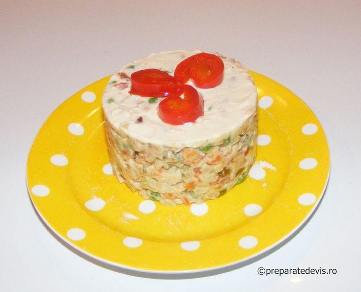 Salata de boeuf dietetica