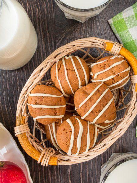 Карамельное печенье на сгущенке