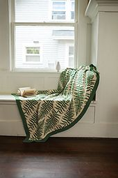 Ravelry: Fronds Afghan pattern by Kerin Dimeler-Laurence