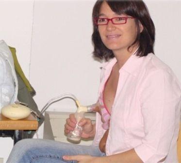 extraccion leche materna