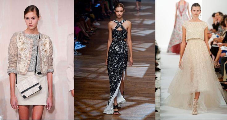 Moda haftaları ardı ardına devam ediyor. New York, Londra ve Milano'da ünlü tasarımcılar 2014 İlkbahar/Yaz trendlerini basın ve modaseverlerle paylaştı.  http://www.elle.com.tr/foto-haber/detay/moda/trendler/nyfwten-en-iyiler_4649