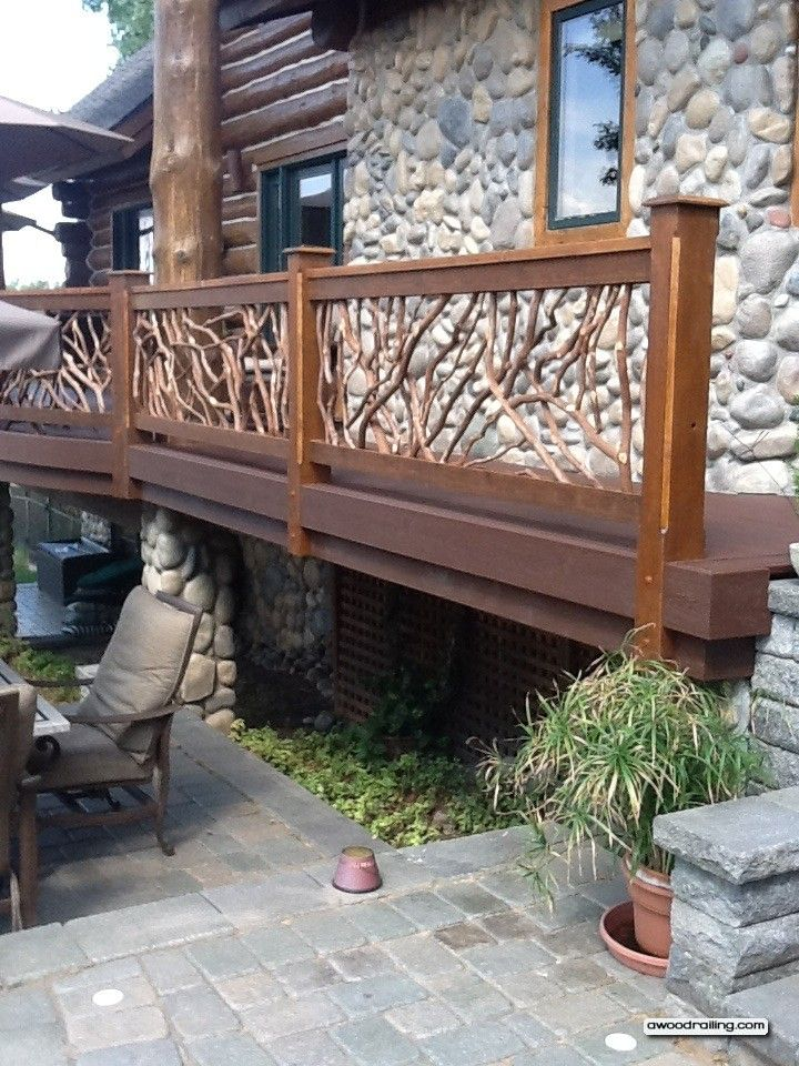 Best Log Home Railing See More Chalet Pinterest Home Log Homes
