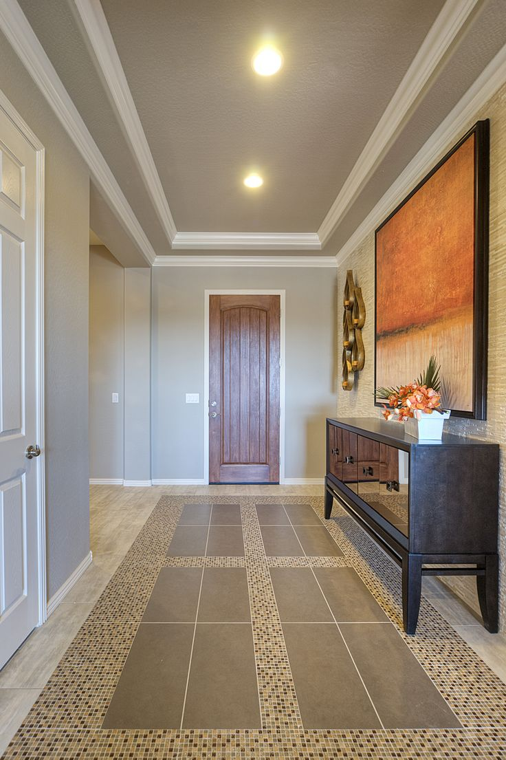 Foyer Tray Ceiling : Ideas about entryway tile floor on pinterest foyer