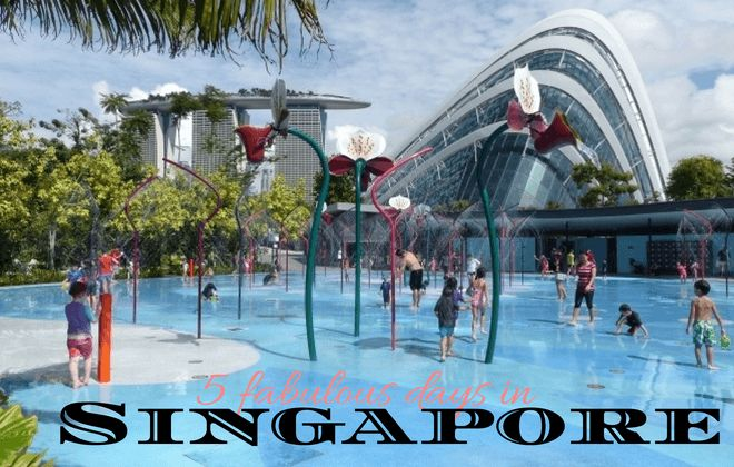Things to do in Singapore in 5 days with kids including Sentosa Island and Gardens by the Bay, budget for Singapore vacation, eating and accommodation