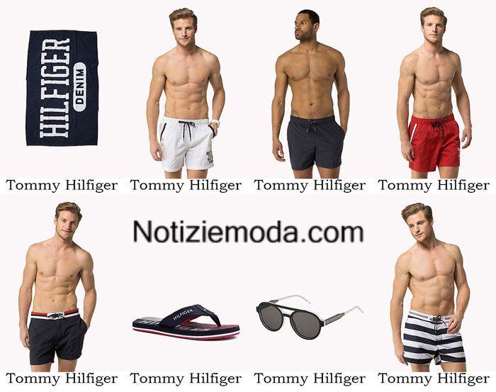 Boardshorts Tommy Hilfiger primavera estate 2016 costumi uomo