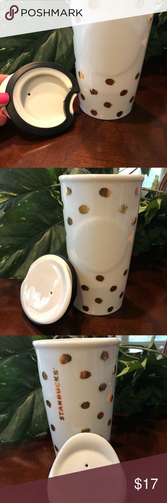 Starbucks cup Ceramic Starbucks cup with ceramic lid to