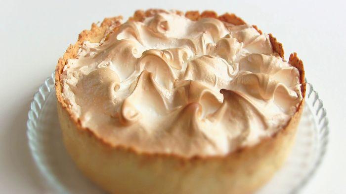 Пирог с безе и лимонным кремом пошаговый рецепт с фото