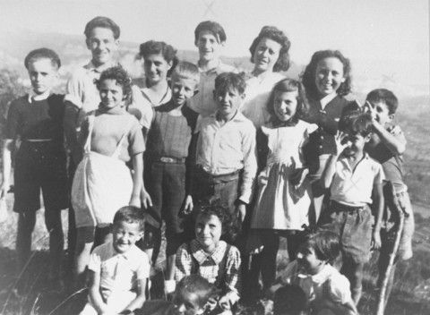 The History Place - Holocaust Timeline: Nazis Raid Children's Home - all sent to Auschwitz.  Only one survived.
