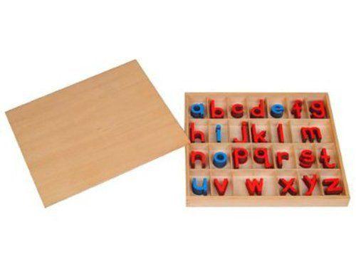 Montessori Small Movable Alphabets w/ Box