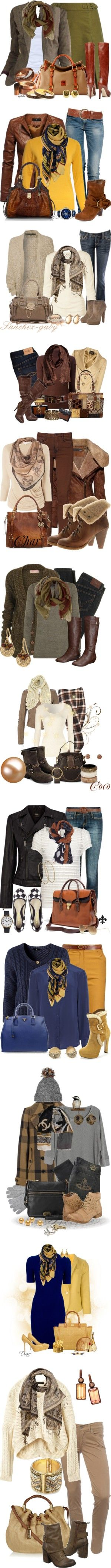 Wonderful ideas for photoshoot attire for cold weather!