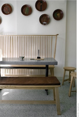 Seating for Eating Bench, Ilse Crawford - Studio Ilse