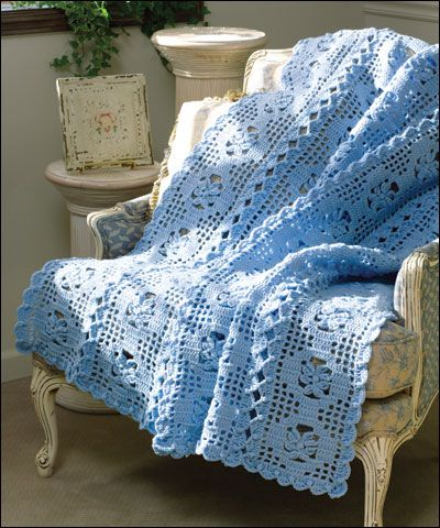 French Crochet Patterns : French Provincial Crochet Afghans Pinterest French Provincial ...
