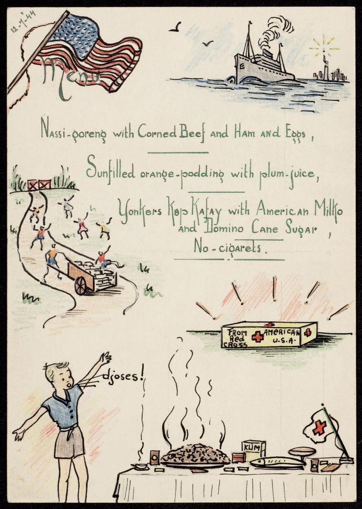 Postcard [...] by Joke Broekema, 1945. Museon, CC BY